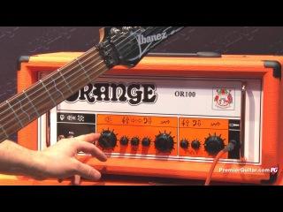 NAMM '13 - Orange Amps OR100 H & Custom Shop 50 Demos