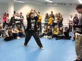 Танцевальный фестиваль Level Up - Electro Финал - Sashu vs Mongol