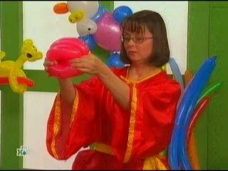 Мастер класс, уроки моделирования из шариков на НТВ.