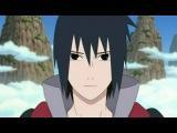 Naruto shippuuden 143 Хачиби против Саске с русской озвучкой от Rain.Death