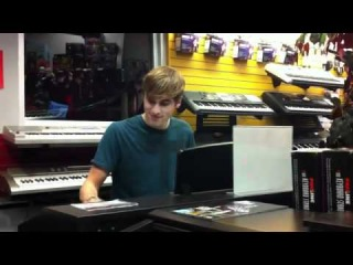 Kendall Schmidt plays Beethoven... Kinda