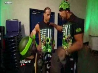 DX Tie Hornswoggle to a Skateboard