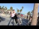 James Quaintance - Amazing Trick at Venice Beach Skate Park(шикарно!)