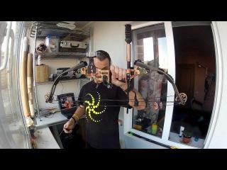 Стрельба из блочного лука - Пристрелка Hoyt Tenacity