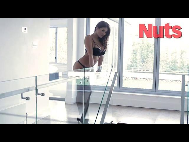 Lucy Pinder, Nuts Magazine, 12 Feb. 2013 video2