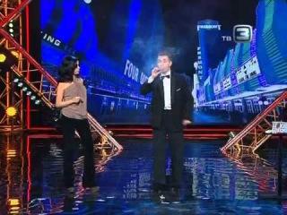 Андрей  Чиканюк  на  шоу  УДИВИ  МЕНЯ !
