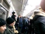 Белорусский рэпер  Рэп в метро 2012