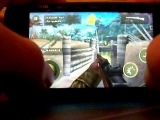 Brothers In Arms 2 Global Front HD - Nokia n900 Nitdroid n12 - Gameplay!!!