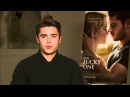 Facebook Fan Questions with Zac Efron - Being a Part of The Lucky One