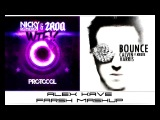 Nicky Romero &amp ZROQ vs. Calvin Harris feat. Kelis - Bounce WTF (ALEX KAVE Farsh Mashup)