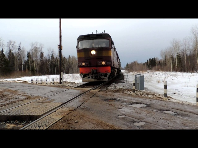 ТЭП70-0566 с поездом Балезино-Ижевск