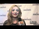 Peyton List talks to SLTV about living in New York Her love for Broadway and her Disney Show