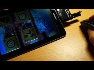 Обзор картридера GALAXY Tab OTG Connection (microSD, SD, USB)