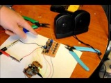 Electronic Voice changer Prototype Featuring the RTS0072B IC