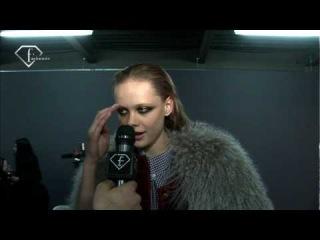 fashiontv | FTV.com - FRIDA GUSTAVSSON MODEL F/W 10-11