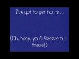 Baby it's Cold Outside - Zooey Deschanel &amp Leon Redbone - Lyrics
