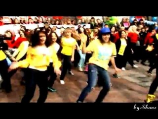 K-POP Flashmob in Moscow VIP 14.04.2012