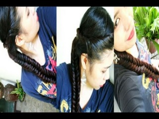 Day 3 Back to school hairstyle Work hairstyle Fishtail with a Twist