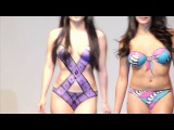 Hot Sexy Body Painting Bikinis at Milpitas Fashion Show by Rose