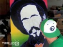 Damian Marley Speed Time Lapse Painting Poster Art Artwork by Tim Teruo Watters (TTW)