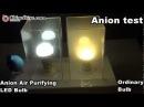E27 90-260V 7W White Light 6000-6500K Anion Air Purifying LED Bulb Good for Health and Environment