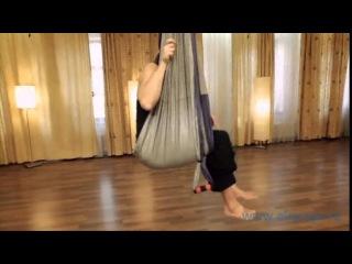 Асаны йога в воздухе 2. www.airyoga.ru фильм от лета 2011