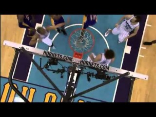 Clutch Block by Howard | Lakers Vs Hornets | March 6, 2013