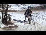 10.03.2013 Питбайк (pitbike) гонка в Курьяново