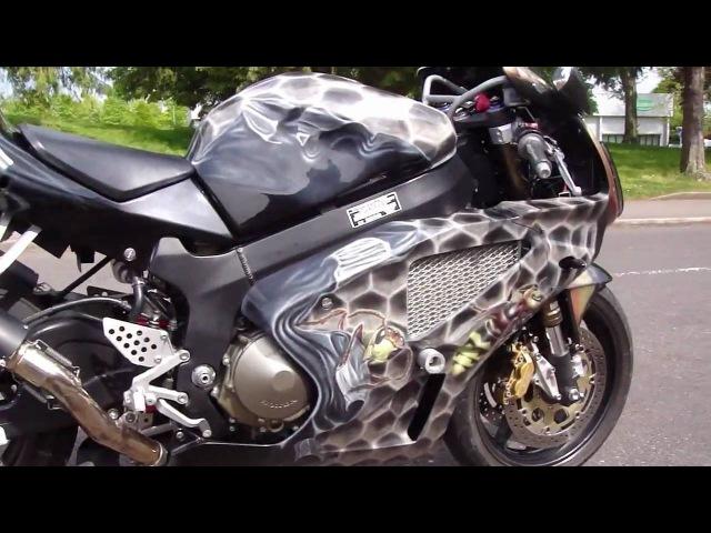 Custom Honda VTR 1000 SP2 2003 Ватрушечка)