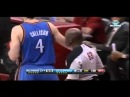 Ref Gets Hit in the FACE with Ball   Thunder vs Clippers   Jan 22 2013