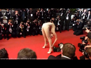 Zlata Contortionist on Red Carpet