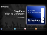 Oleg Espo - Back To Generation (Exclusive Preview)