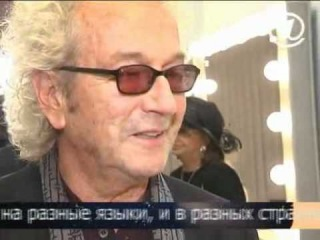 Garou, Daniel Lavoie, Patrick Fiori - Belle, tournage de la video (Moscou, Decembre 2010).avi