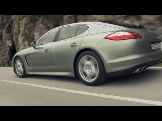 Porsche Panamera S Hybrid - Press Trailer