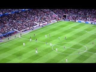 Celtic takes the lead on free kick @ Camp Nou & crazy celebration (23/10/2012). Must see !!! HD