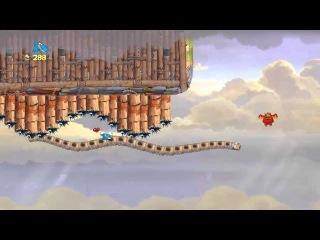 Прохождение игры Rayman Origins с Шепардом Часть 7