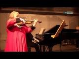 DORA SCHWARZBERG ,J. Brahms, Violin Sonata No.1 - Dora Schwarzberg & Tamara Atschba