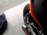 Kawasaki ER6n 2007 yoshimura exhaust sound