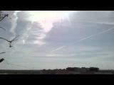Химтрейлы над Запорожье-12.09.2012:14-40