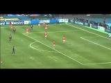Iniesta haciendo magia contra Spartak Moscow