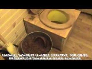 Как изготовить простой компостный туалет
