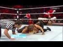 WWE Monday Night Raw 28/01/13: Kaitlyn Vs. Tamina Snuka Las Vegas Show Girl Lumberjill Match