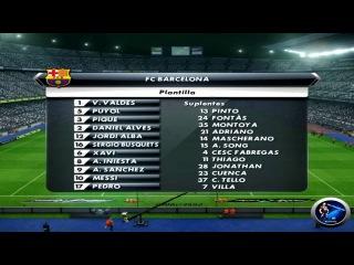 PES 2013 PC. V3. Himno FCB pasillos Camp Nou by SECUN1972