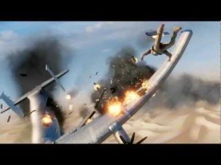 Uncharted 3 Иллюзии Дрейка Падение самолета
