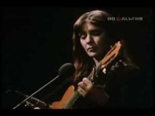 Жанна Бичевская - Не слышно шума городского (1976; музыка народная - ст. Фёдора Николаевича Глинки)