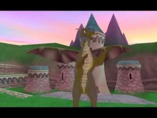 Обзор игры Spyro. Sony Playstansion 1 Эмулятор