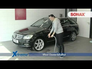 Sonax Wheel Cleaner (Очиститель дисков) видео на Русском