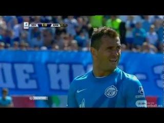 Зенит - Амкар 2:0 Кержаков (пен) [LiveFootball.ws]