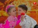 Украина мае талант - Карина и Юра, дети-акробаты english subtitles