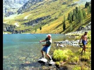 Поход на Тальмень. День 8, 9. Рыбалка в Горном Алтае